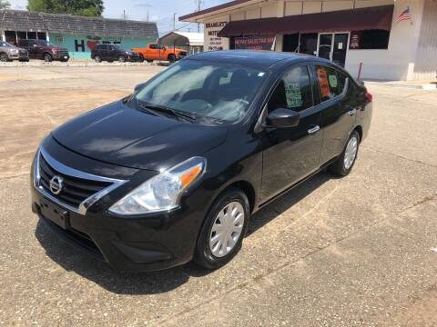 2016 Nissan Versa for sale at BRAMLETT MOTORS in Hope AR