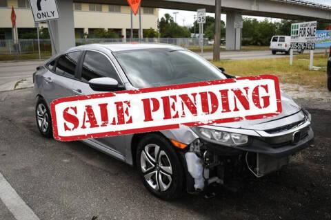 2016 Honda Civic for sale at ELITE MOTOR CARS OF MIAMI in Miami FL