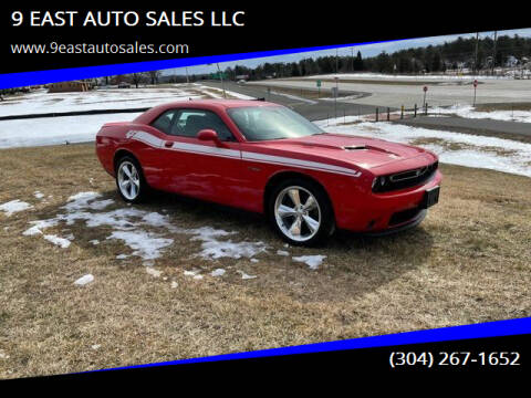 2016 Dodge Challenger for sale at 9 EAST AUTO SALES LLC in Martinsburg WV