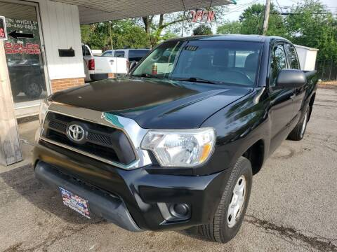 2013 Toyota Tacoma for sale at New Wheels in Glendale Heights IL