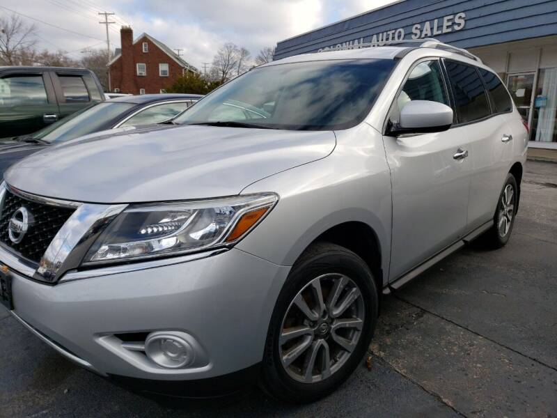 2014 Nissan Pathfinder for sale at COLONIAL AUTO SALES in North Lima OH