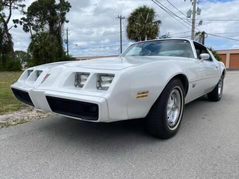 1980 Pontiac Firebird Trans Am for sale at American Classics Autotrader LLC in Pompano Beach FL