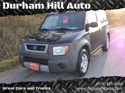 2003 Honda Element for sale at Durham Hill Auto in Muskego WI