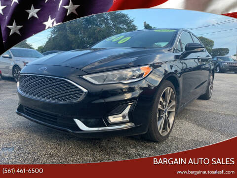 2019 Ford Fusion for sale at Bargain Auto Sales in West Palm Beach FL
