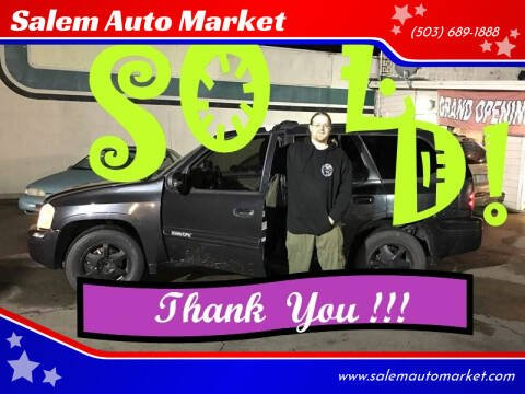 2003 GMC Envoy for sale at Salem Auto Market in Salem OR