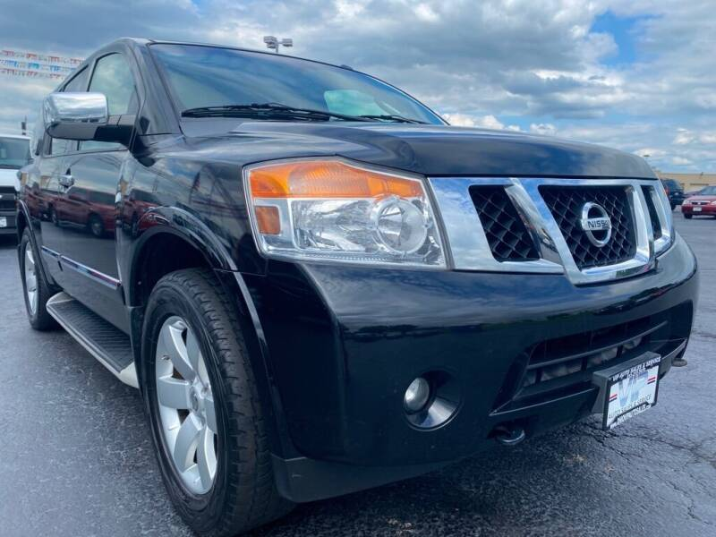 2010 Nissan Armada for sale at VIP Auto Sales & Service in Franklin OH