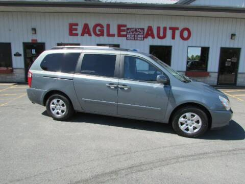 2009 Kia Sedona for sale at Eagle Auto Center in Seneca Falls NY