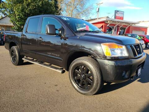 2012 Nissan Titan for sale at Universal Auto Sales in Salem OR
