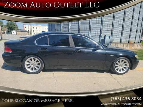 2003 BMW 7 Series for sale at Zoom Auto Outlet LLC in Thorntown IN
