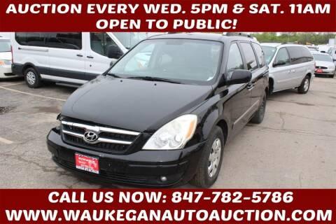 2007 Hyundai Entourage for sale at Waukegan Auto Auction in Waukegan IL