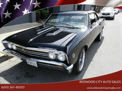1967 Chevrolet Chevelle for sale at Redwood City Auto Sales in Redwood City CA