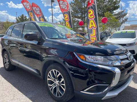 2016 Mitsubishi Outlander for sale at Duke City Auto LLC in Gallup NM