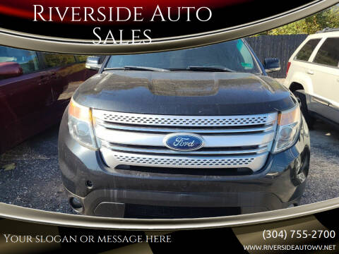 2011 Ford Explorer for sale at Riverside Auto Sales in Saint Albans WV