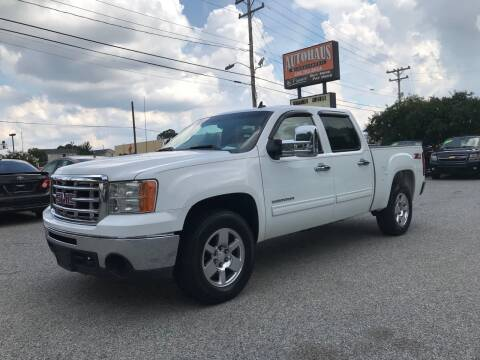 2010 GMC Sierra 1500 for sale at Autohaus of Greensboro in Greensboro NC