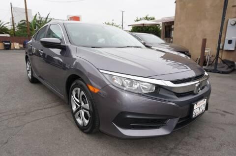 2018 Honda Civic for sale at Win Motors Inc. in Los Angeles CA
