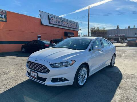 2015 Ford Fusion for sale at City Motors in Hayward CA