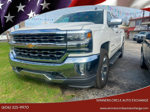 2017 Chevrolet Silverado 1500 for sale at WINNERS CIRCLE AUTO EXCHANGE in Ashland KY