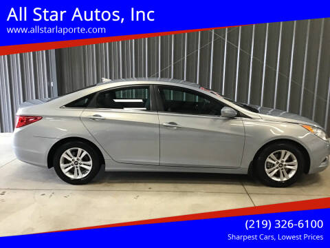 2012 Hyundai Sonata for sale at All Star Autos, Inc in La Porte IN