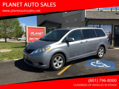 2014 Toyota Sienna for sale at PLANET AUTO SALES in Lindon UT