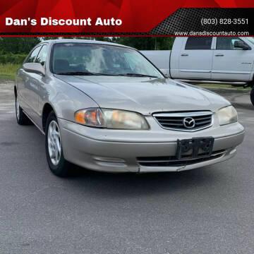 2002 Mazda 626 for sale at Dan's Discount Auto in Gaston SC