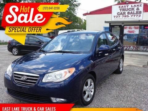 2009 Hyundai Elantra for sale at EAST LAKE TRUCK & CAR SALES in Holiday FL