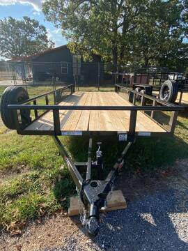 """2021 HD 83""""x20' Utility Trailer for sale at TINKER MOTOR COMPANY in Indianola OK"""