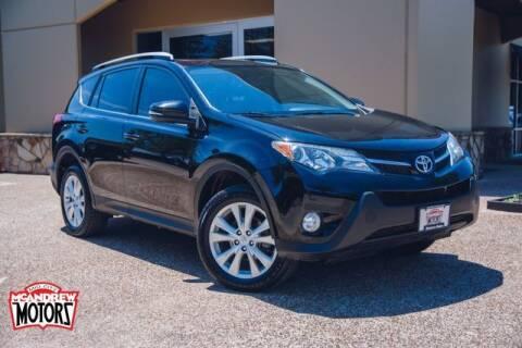 2013 Toyota RAV4 for sale at Mcandrew Motors in Arlington TX