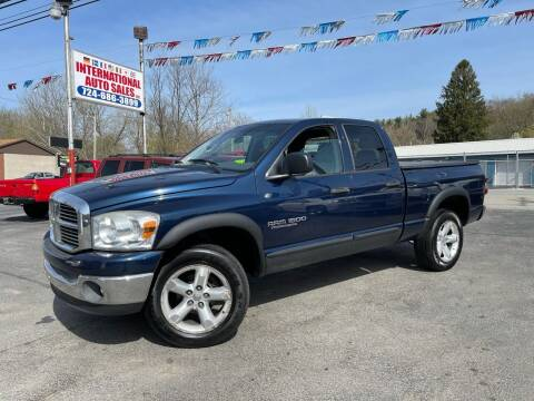 2007 Dodge Ram Pickup 1500 for sale at INTERNATIONAL AUTO SALES LLC in Latrobe PA