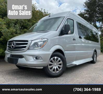 2016 Mercedes-Benz Sprinter Cargo for sale at Omar's Auto Sales in Martinez GA