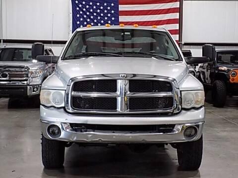 2005 Dodge Ram Pickup 3500 for sale at Texas Motor Sport in Houston TX