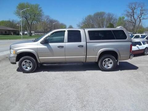 2005 Dodge Ram Pickup 1500 for sale at BRETT SPAULDING SALES in Onawa IA
