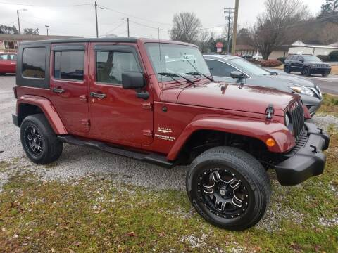 2007 Jeep Wrangler Unlimited for sale at Wholesale Auto Inc in Athens TN