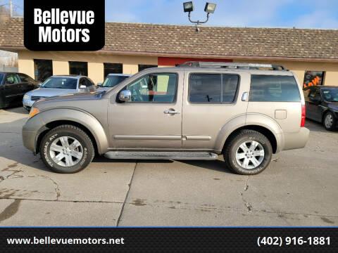 2007 Nissan Pathfinder for sale at Bellevue Motors in Bellevue NE