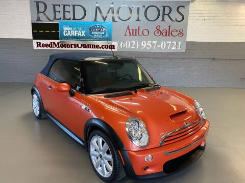 2006 MINI Cooper for sale at REED MOTORS LLC in Phoenix AZ