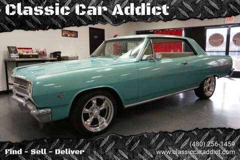 1965 Chevrolet Malibu for sale at Classic Car Addict in Mesa AZ