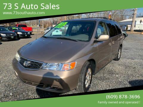 2003 Honda Odyssey for sale at 73 S Auto Sales in Hammonton NJ
