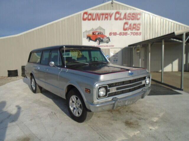 1970 Chevrolet Suburban for sale in Staunton, IL