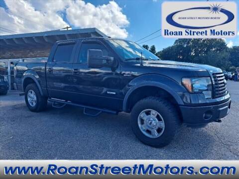 2012 Ford F-150 for sale at PARKWAY AUTO SALES OF BRISTOL - Roan Street Motors in Johnson City TN