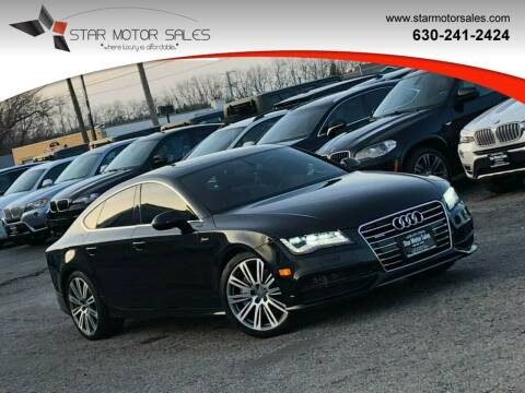 2014 Audi A7 for sale at Star Motor Sales in Downers Grove IL