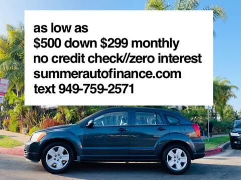 2007 Dodge Caliber for sale at SUMMER AUTO FINANCE in Costa Mesa CA