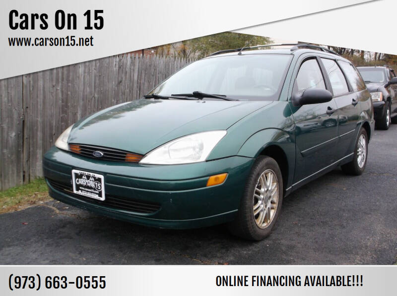 2000 Ford Focus for sale at Cars On 15 in Lake Hopatcong NJ