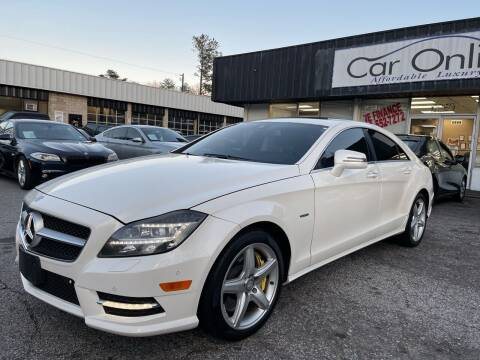 2012 Mercedes-Benz CLS for sale at Car Online in Roswell GA