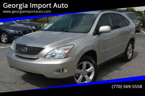 2007 Lexus RX 350 for sale at Georgia Import Auto in Alpharetta GA