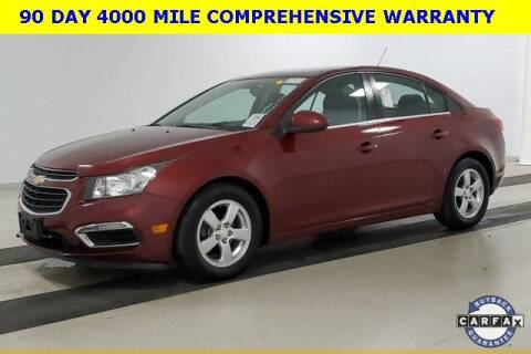2016 Chevrolet Cruze Limited for sale at PHIL SMITH AUTOMOTIVE GROUP - Tallahassee Ford Lincoln in Tallahassee FL