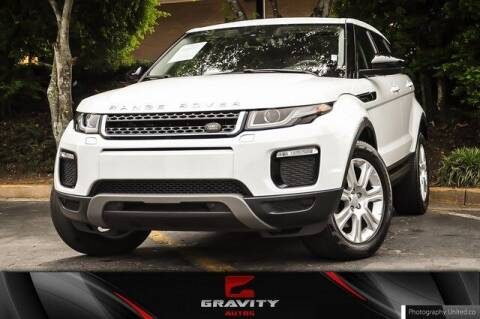 2018 Land Rover Range Rover Evoque for sale at Gravity Autos Atlanta in Atlanta GA