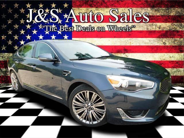 2015 Kia Cadenza for sale at J & S Auto Sales in Clarksville TN
