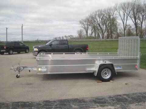 2021 RC 78 IN X 14 FT UTILITY TRAILER for sale at G T AUTO PLAZA Inc in Pearl City IL