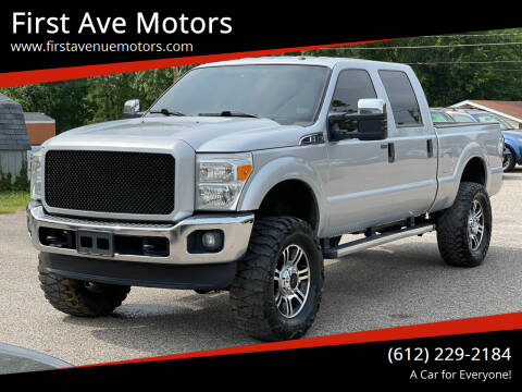 2014 Ford F-250 Super Duty for sale at First Ave Motors in Shakopee MN