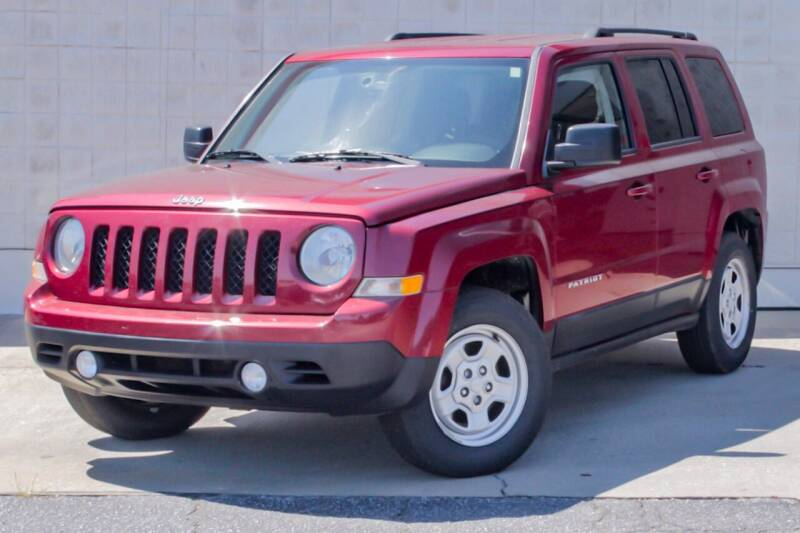 2017 Jeep Patriot for sale at Cannon Auto Sales in Newberry SC