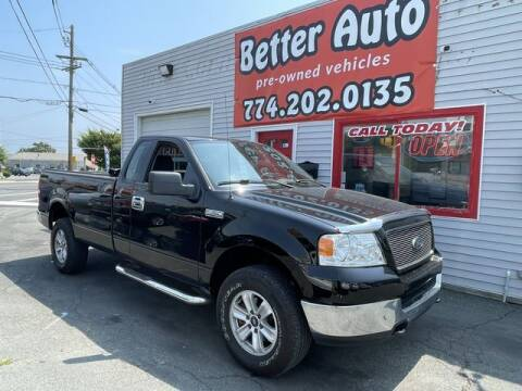 2005 Ford F-150 for sale at Better Auto in Dartmouth MA